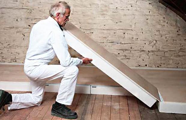 Isolation de toiture pir pour grenier et toiture infos et prix - Isolation grenier prix m2 ...