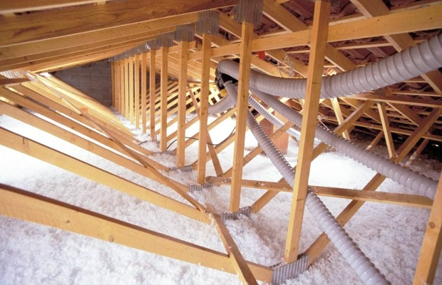 Sol de grenier isolation Supafil Loft