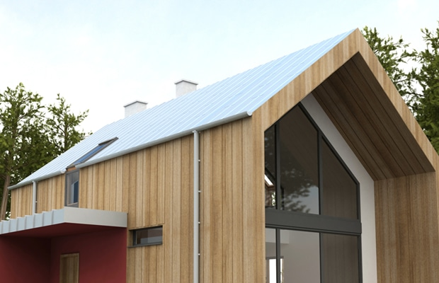 plaques de toiture isol es r alisations et prix. Black Bedroom Furniture Sets. Home Design Ideas